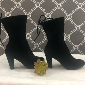 Black Ankle Booties size 7 1/2